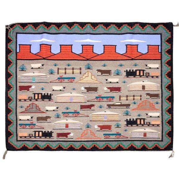 Navajo Pictorial Weaving