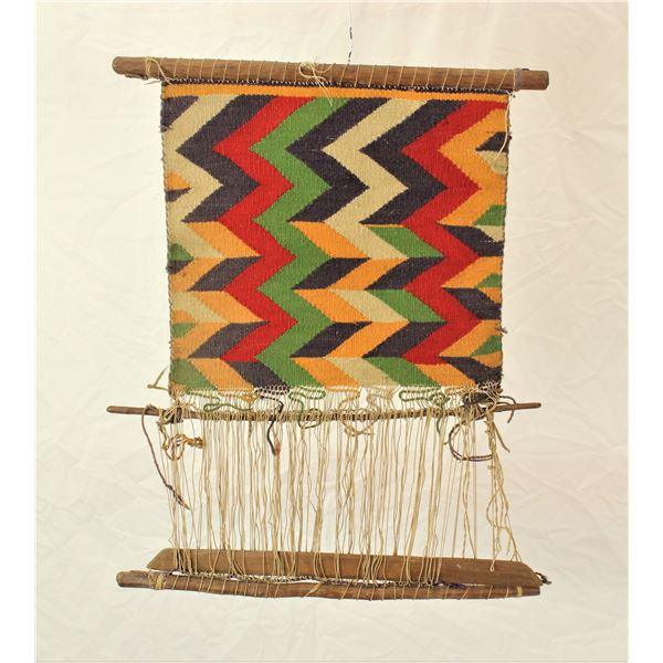 Navajo Germantown Sampler Weaving