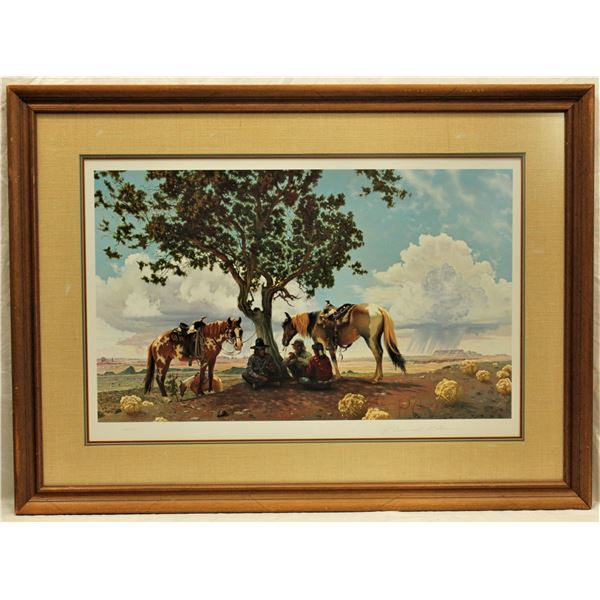 R. Brownell McGrew Lithograph