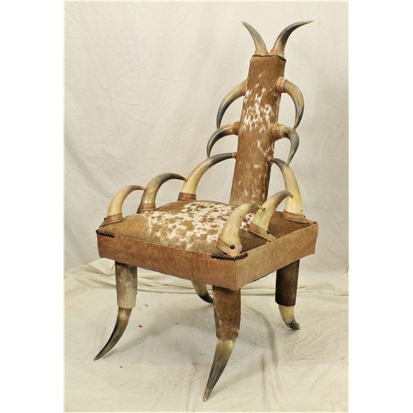 Horn Parlor Chair