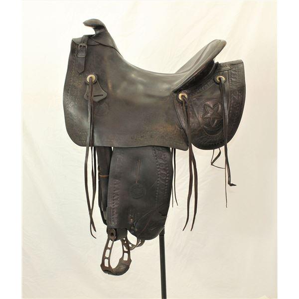 Texas Mother Hubbard Saddle