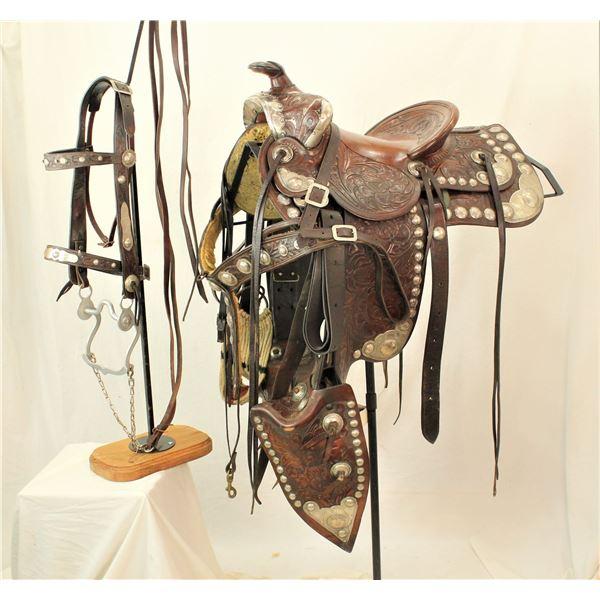 Western Saddlery Silver Saddle