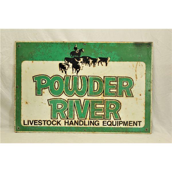 Powder River Sign