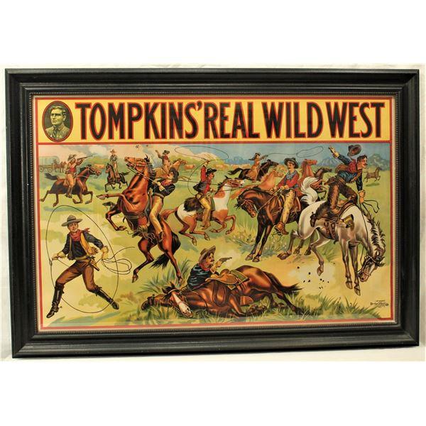 Thompkins Wild West Poster