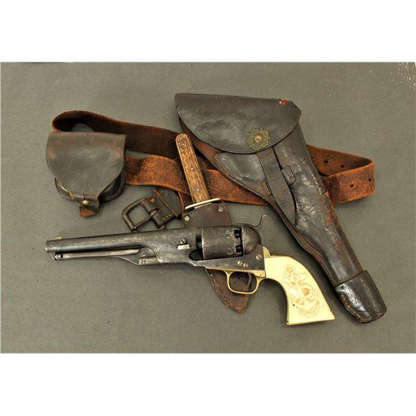 Rare Colt 1861 Navy Revolver