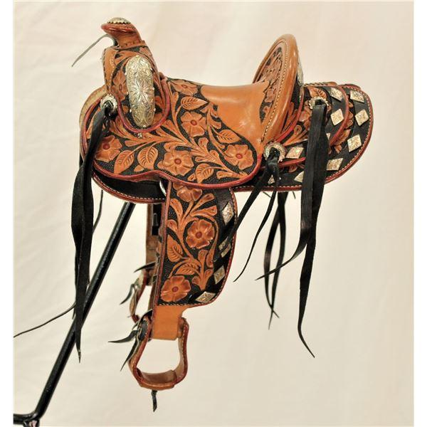 Heiser - Keyston Salesmans Sample Saddle