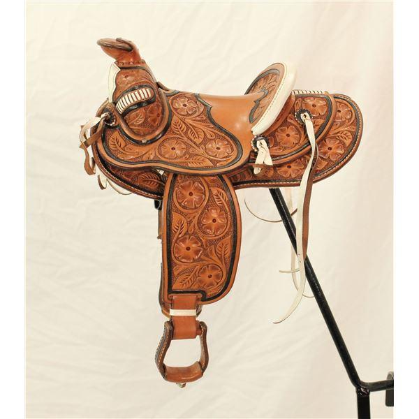 Salesmans Sample Saddle