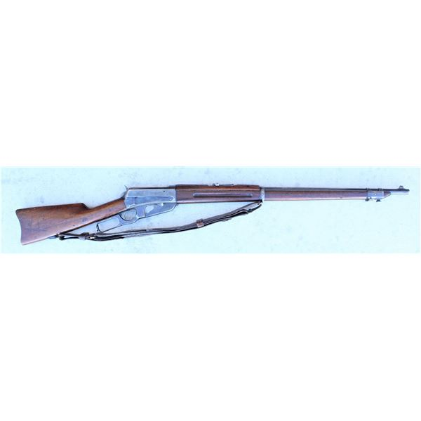 Desirable Indentified National Guard of Colorado  Winchester 1895 Musket