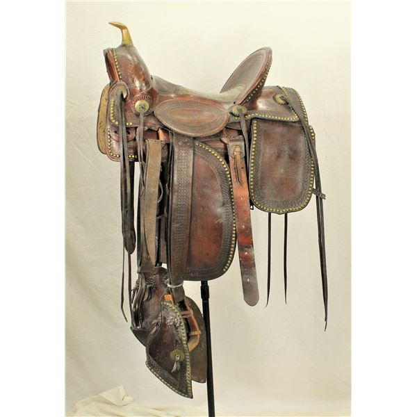 Exceptional Fred Mueller Saddle
