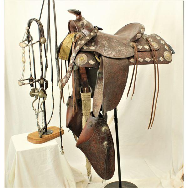 Olsen Nolte Silver Parade Saddle