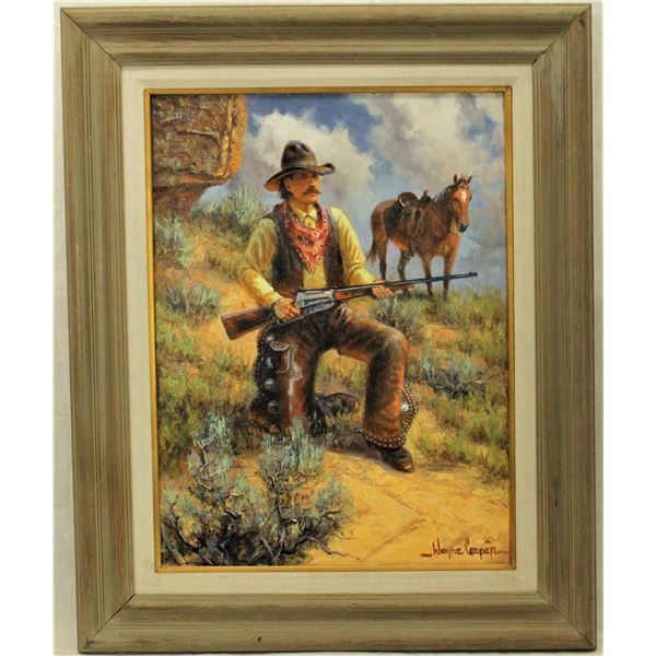 Wayne Cooper Oil Painting