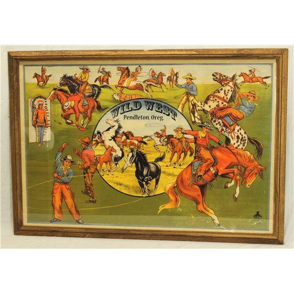 Pendleton Rodeo Poster