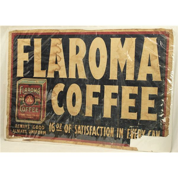 Coffee Advertising Lithograph