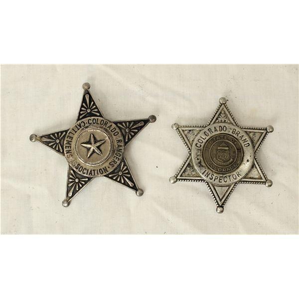 Colorado Branding Inspector Badges