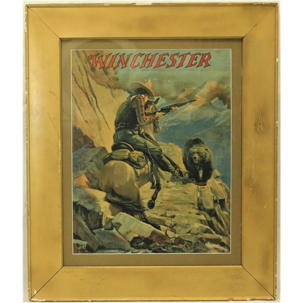 Winchester Advertising Poster
