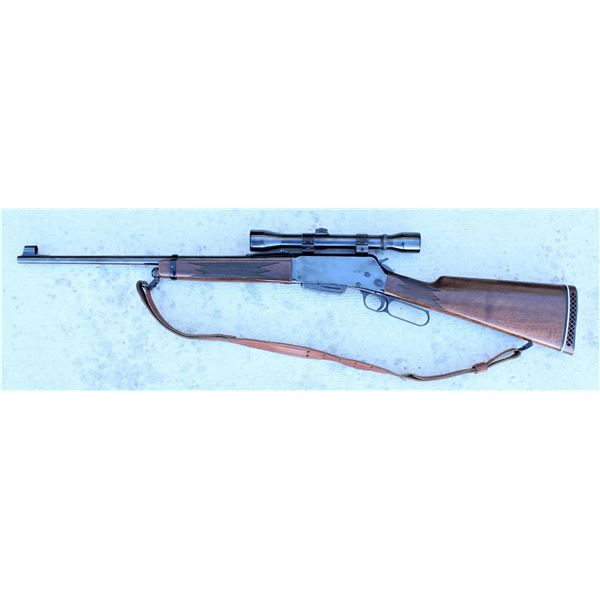 Browning Lever Action Rifle with Optics
