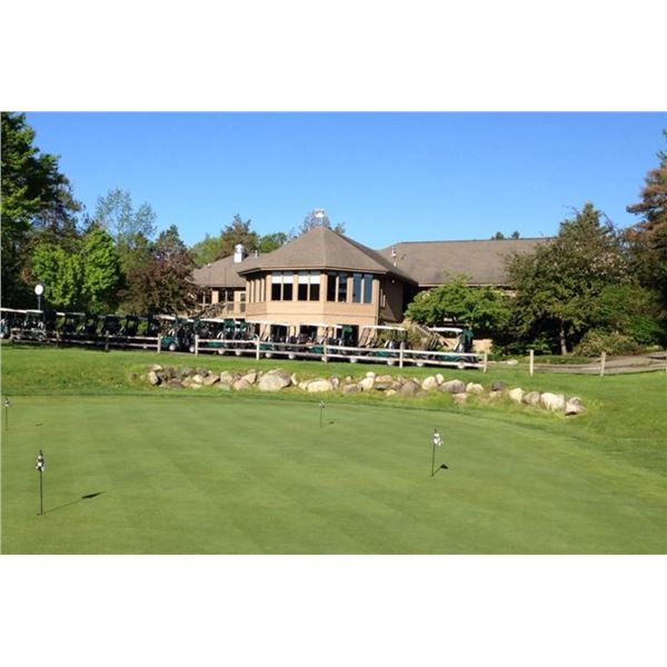 One 18-hole Foursome with Carts at Timber Ridge
