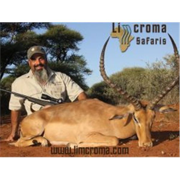 10-day South Africa Plains Game safari for 2 hunters