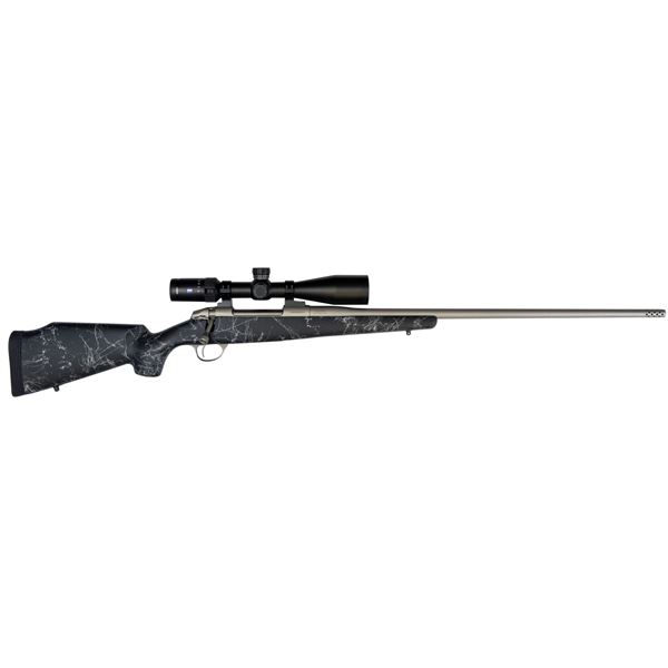 Fierce Carbon Fury 6.5 PRC Long Rifle w/ ZEISS 6-24X50 Conquest V4 Rifle scope