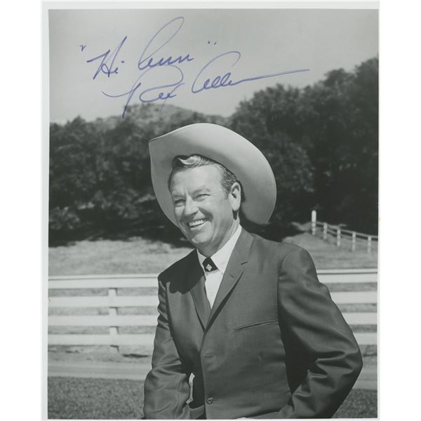 Rex Allen signed photo