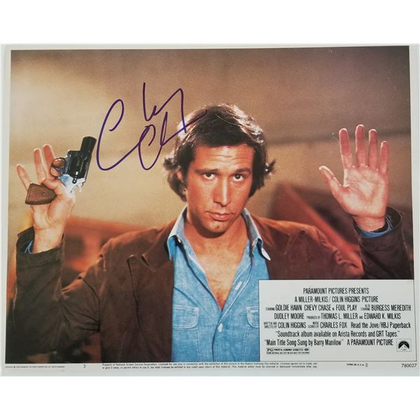Chevy Chase signed movie photo