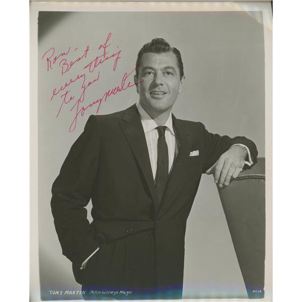 Tony Martin signed photo