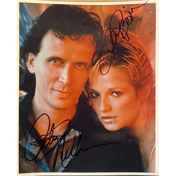 The Adventures of Buckaroo Banzai Across the 8th Dimension Peter Weller and Ellen Barkin signed movi