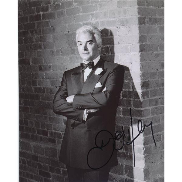 John O'Hurley signed Seinfeld photo
