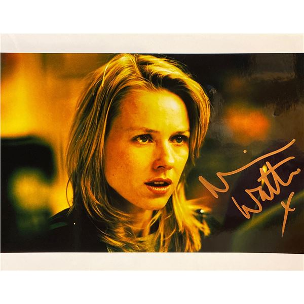 Naomi Watts signed photo
