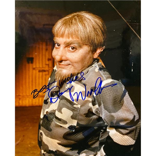 Special Unit 2 Danny Woodburn signed photo