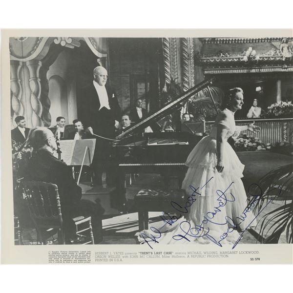 Margaret Lockwood signed movie photo