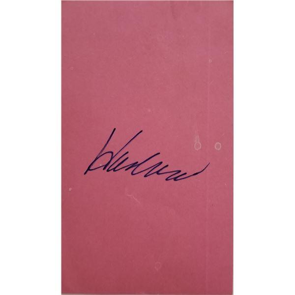 Hank Aaron signature cut