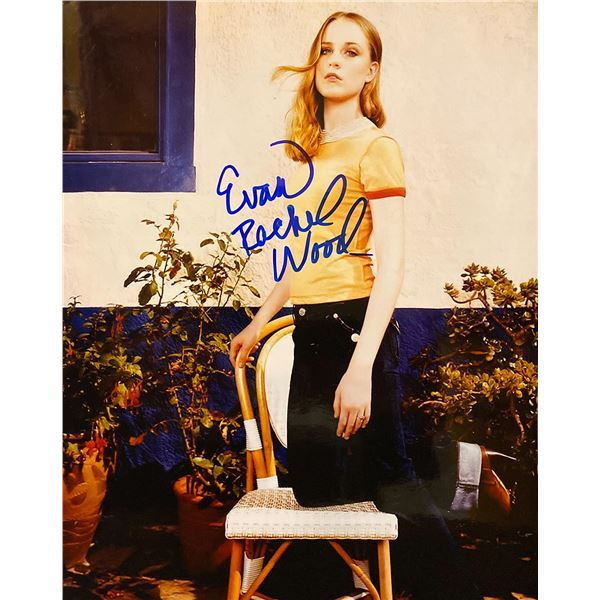 Evan Rachel Wood signed photo
