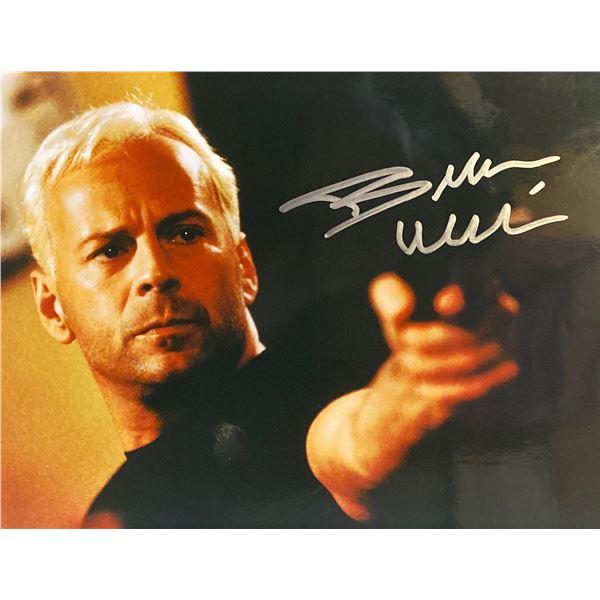 The Jackal Bruce Willis signed movie photo