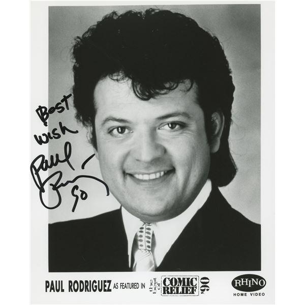 Paul Rodriguez signed photo