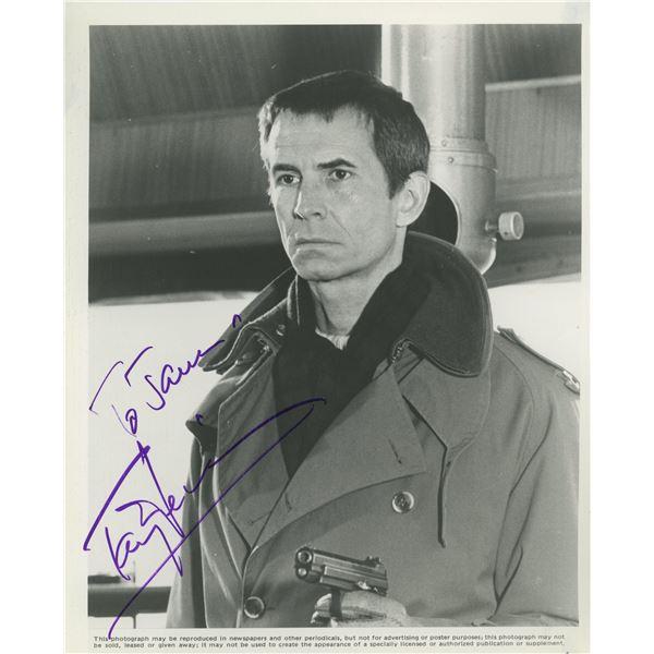 Anthony Perkins signed movie photo