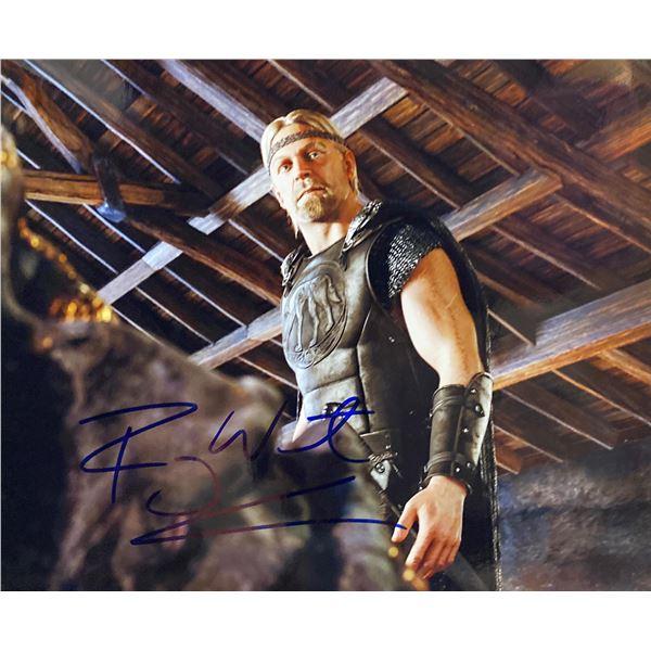 Beowulf Ray Winstone signed movie photo
