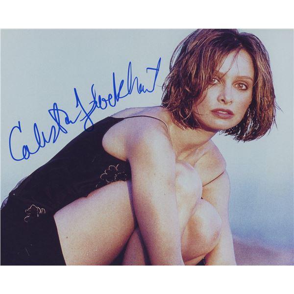 Calista Flockhart signed photo