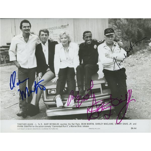 Together Again signed movie photo -Sinatra, Martin