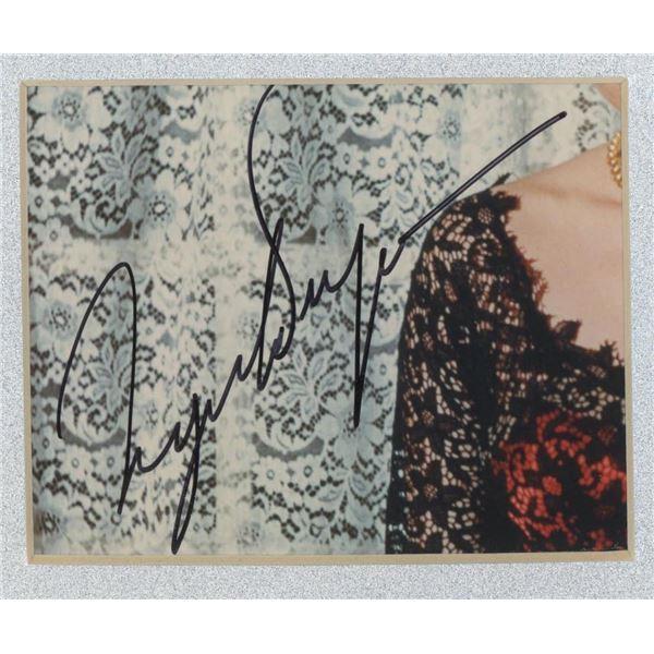 Ingrid Bergman signature cut