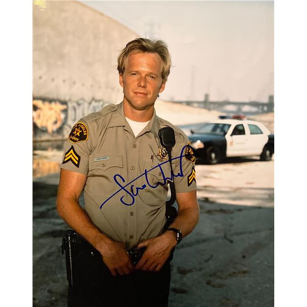 10-8: Officers on Duty Scott William Winters signed photo