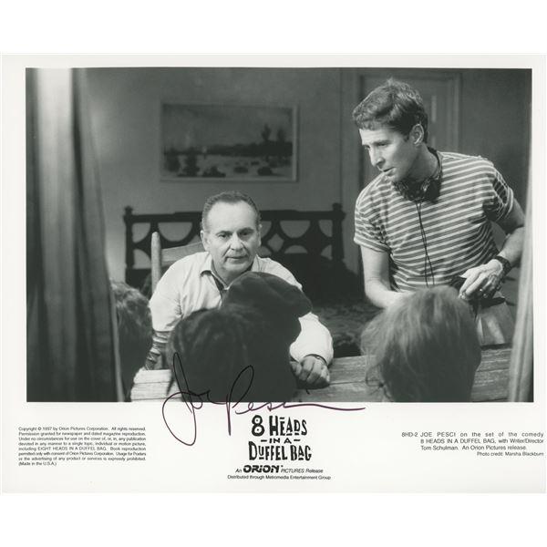 Joe Pesci signed movie photo