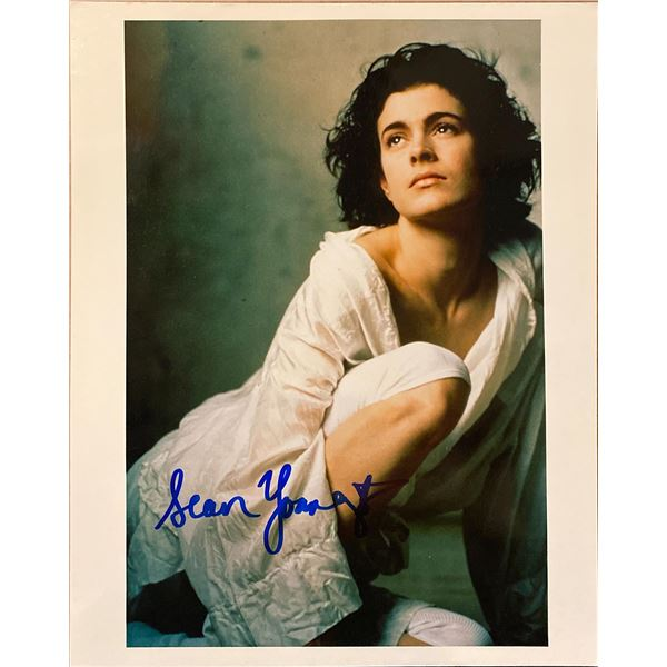 Sean Young signed photo