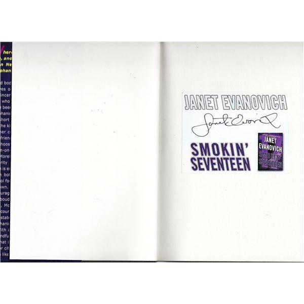 Smokin' Seventeen: A Stephanie Plum Novel Janet Evanovich signed book