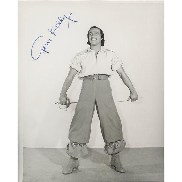 Gene Kelly signed photo