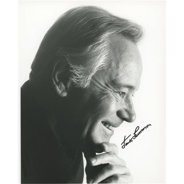 Jack Lemon signed photo