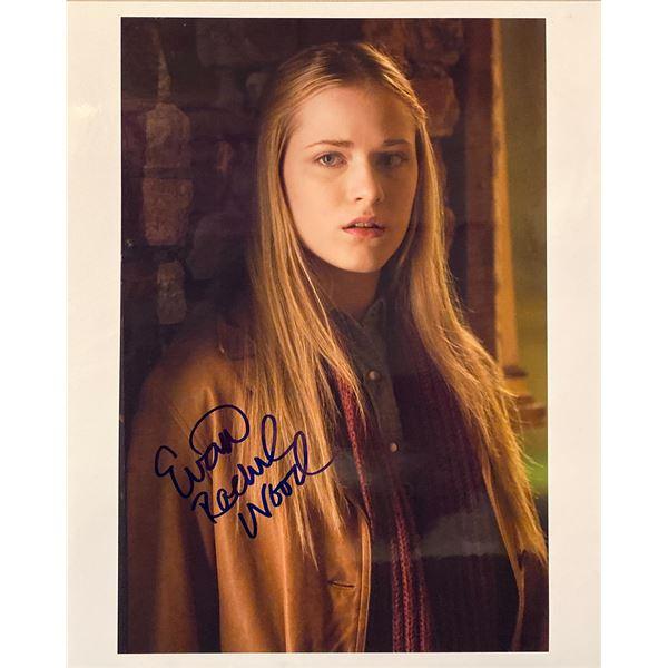 Across the Universe Evan Rachel Wood signed movie photo