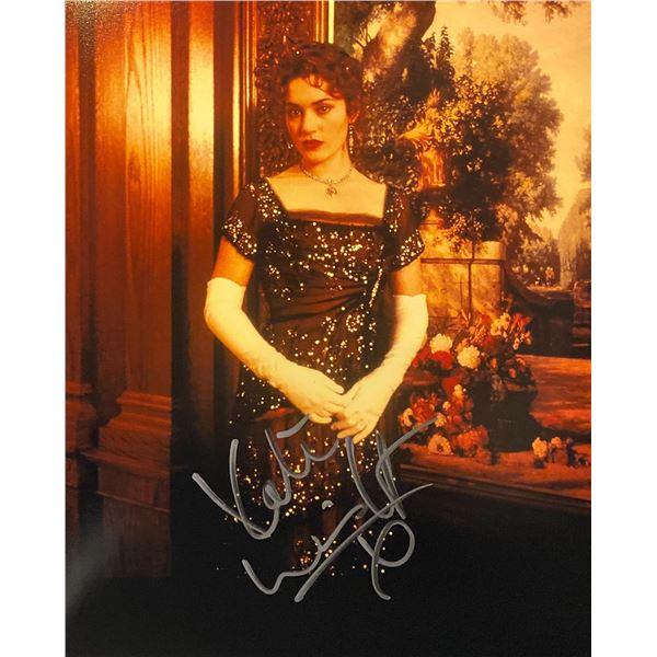 Titanic Kate Winslet signed movie photo