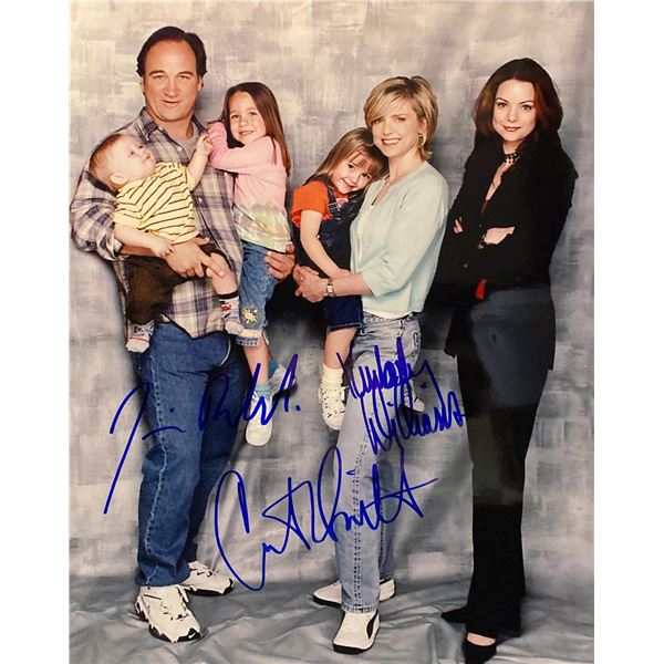 According to Jim cast signed photo