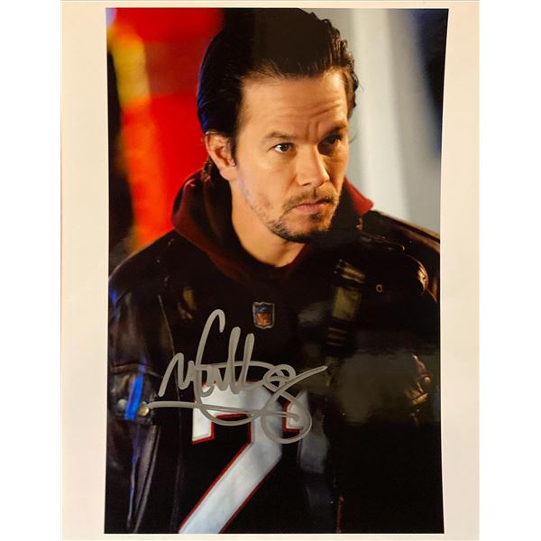 Four Brothers Mark Wahlberg signed movie photo